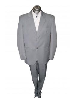 Normal egyenes fazonú öltöny-Világos Szürke