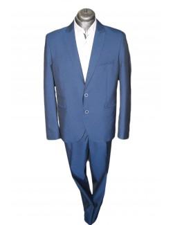 Slim Karcsúsított fazonú öltöny-Kék
