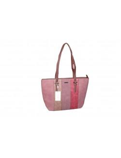 David Jones női táska-Rózsaszín Mintás