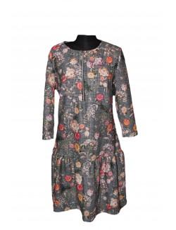 Női egyrészes ruha-Mintás