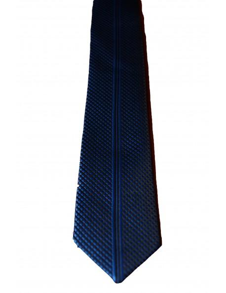 Goldenland slim nyakkendő-Sötétkék MIntás