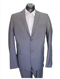 -ÚJ-Normal egyenes fazonú öltöny-Világos Szürke