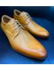 D'Royce Premium férfi alkalmi cipő-Mustárbarna