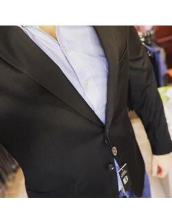LB Premium Férfi slim fit öltöny-Fekete