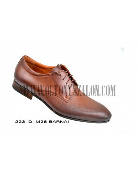 D'Royce Alkalmi férfi cipő-Sötétbarna
