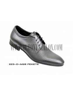 D'Royce Alkalmi férfi cipő-Fekete