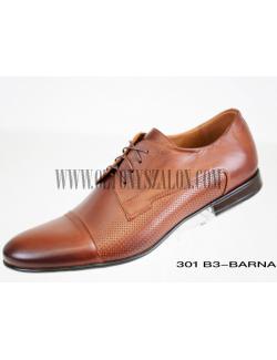 D'Royce Alkalmi férfi cipő-Barna