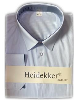 Heidekker slim fit férfi ing-Világoskék csíkos